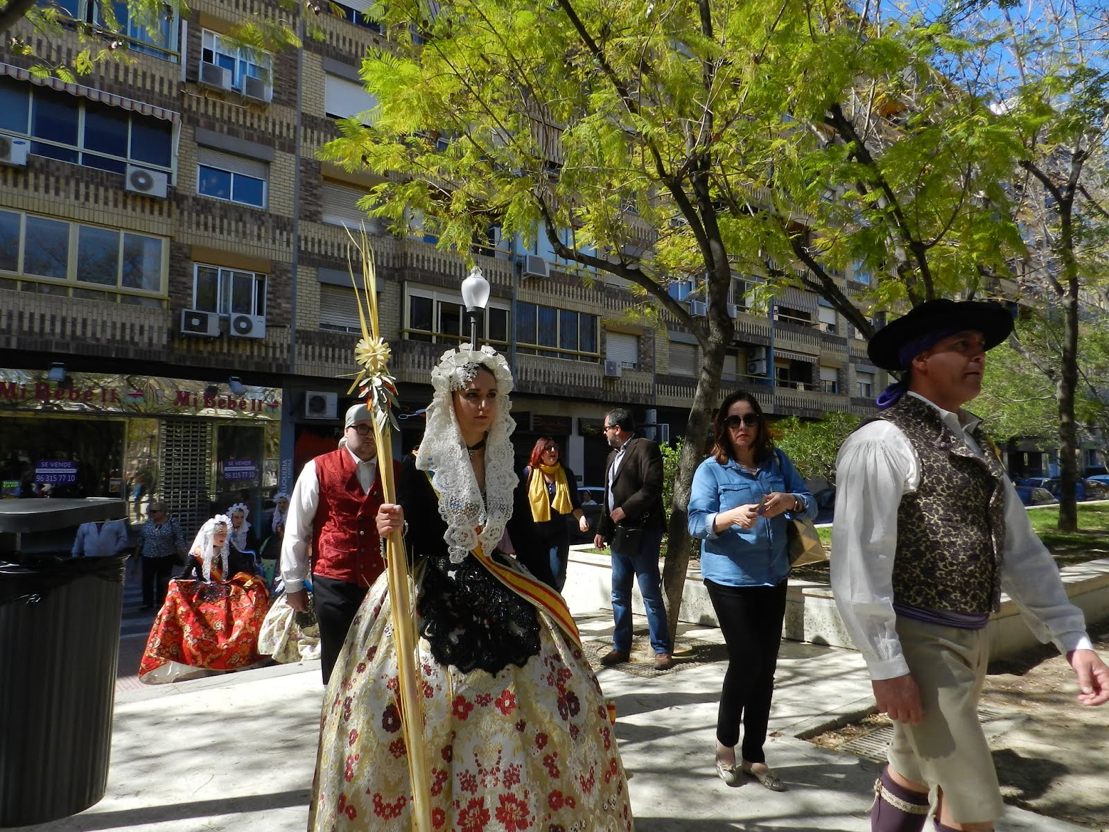 Domingo de Ramos en Plaza de la Viña (Alicante)