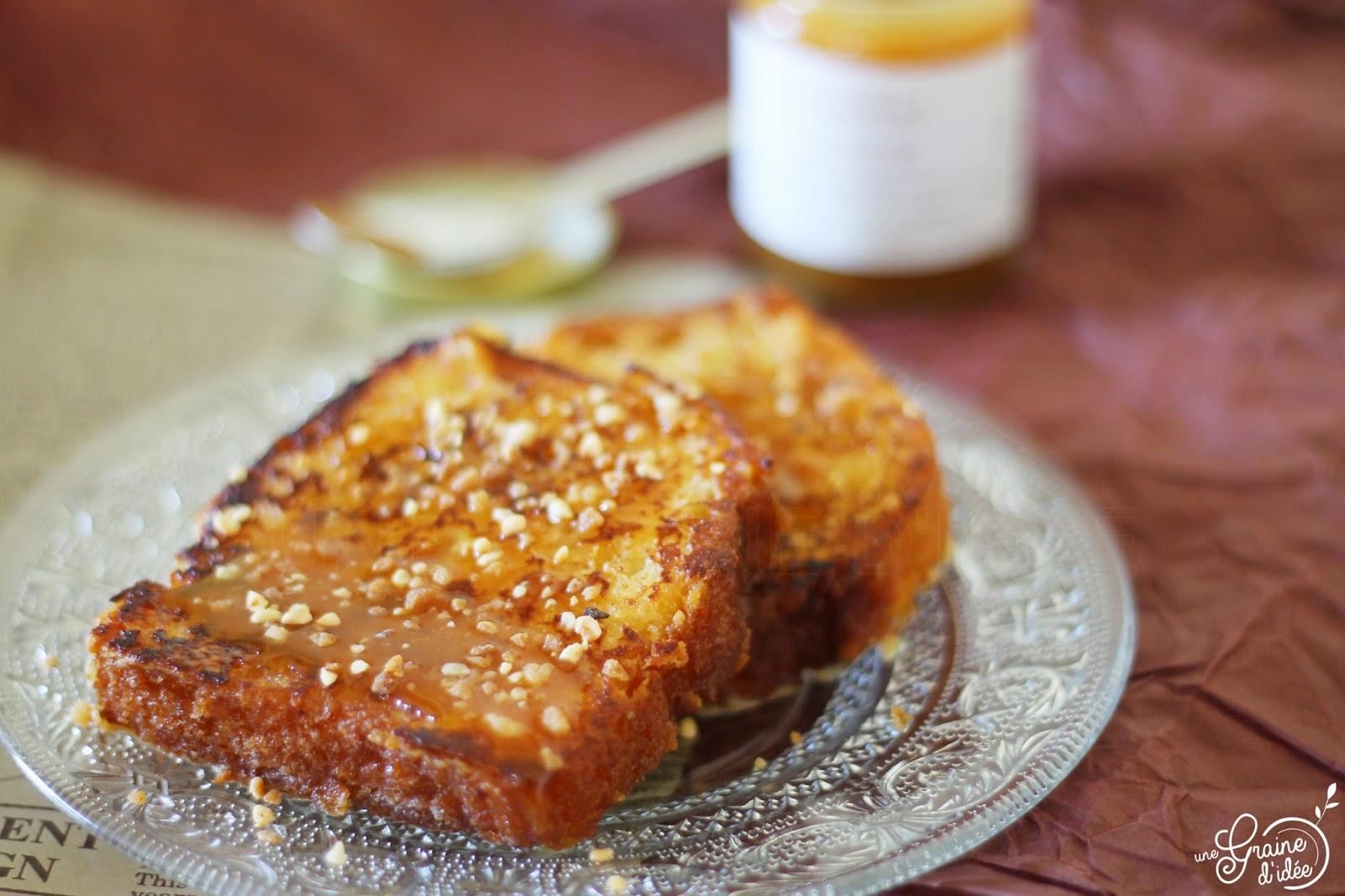 Quatre-Quarts Perdu Caramel au Beurre Salé et Pralin - Une Graine d'Idée