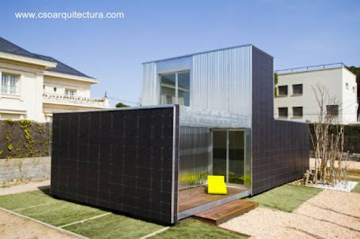 Casa prefabricada modular en España