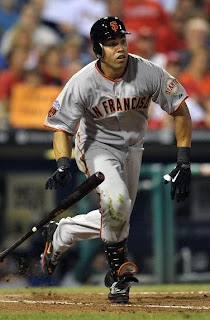 Carlos Beltran's first game as a San Francisco Giant