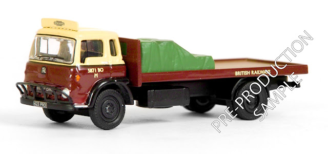 EXCLUSIVE FIRST EDITIONS 23406 - Bedford TK 2 Axle Flatbed - British Railways