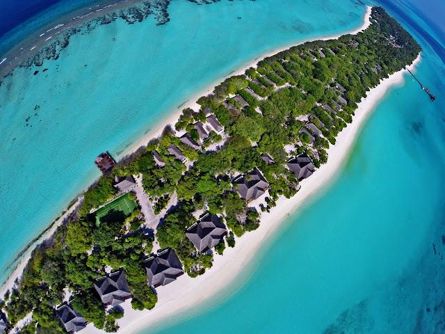 Palm Beach Resort & Spa Malediven, Madhiriguraidhoo Island, JUREBU Kombireise Spezialist