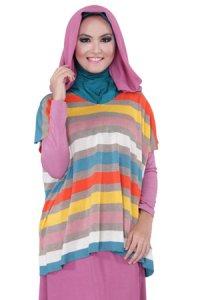 Zenitha Cardigan Zn129 - Plum (ALL SIZE) (Toko Jilbab dan Busana Muslimah Terbaru)