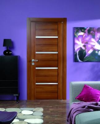 Passo drzwi wewnętrzne fornirowane - orzech