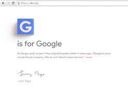 Alphabet Jadi Induk Perusahaan Google