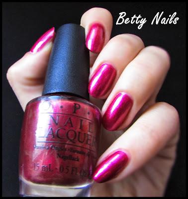opi cor de rosa