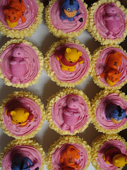 Winnie the Pooh Cupcakes