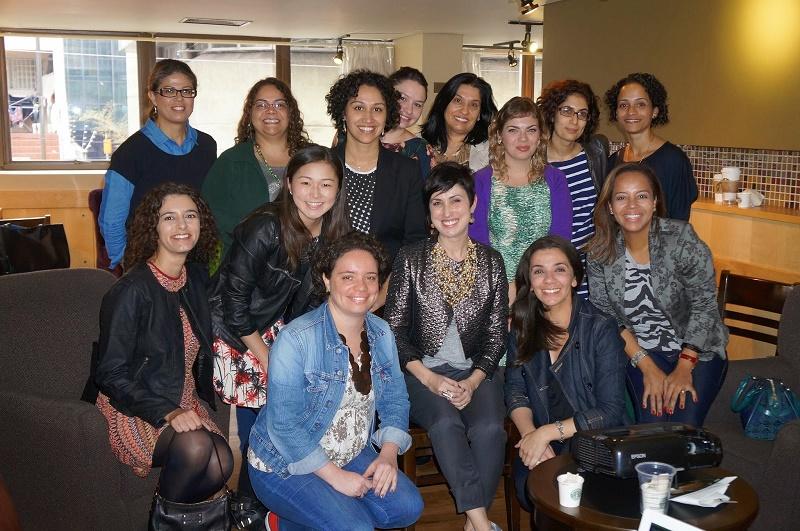 Turma do segundo wokshop da Ana Soares em SP - blog Hoje vou Assim OFF - foto tirada por Carina Pedro
