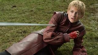 Joffrey es mordido por Nymeria