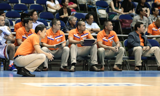 Meralco Bolts Bench