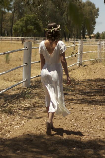 vintage reception / bridal shower dress