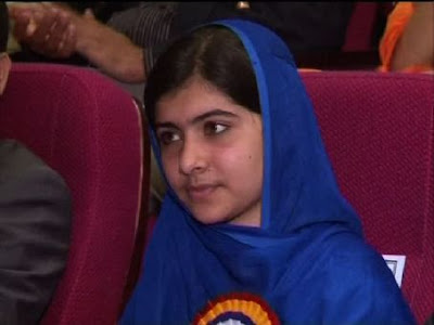 Malala Yousafzai in meeting