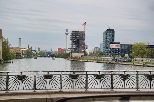 Baustelle LIVING LEVELS direkt an der Spree, Mühlenstraße 24, 10243 Berlin, 11.04.2014