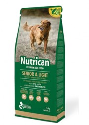 NUTRICAN SENIOR & LIGHT 15kg + 3 ΔΩΡΟ = 35 ΕΥΡΩ!!!
