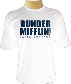 Camiseta Dunder Mifflin The Office
