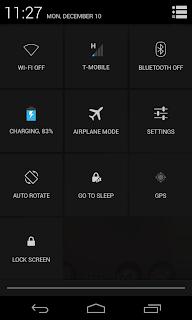 Nuevo configurador de ajustes, android 4.2.2