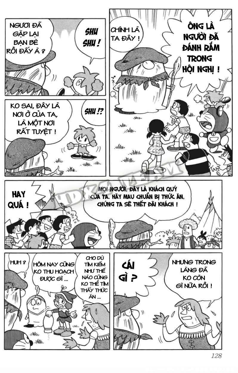 Truyện tranh Doraemon Dài Tập 25 - Nobita và truyền thuyết thần rừng trang 148