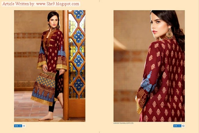 Lakhany Winter Kurtis Collection 2014