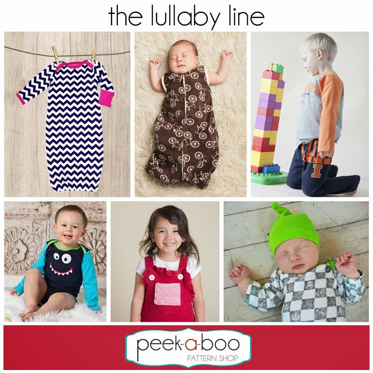 The Berry Bunch: Peek-A-Boo Pattern Shop: Lullaby Line: Overalls Testing