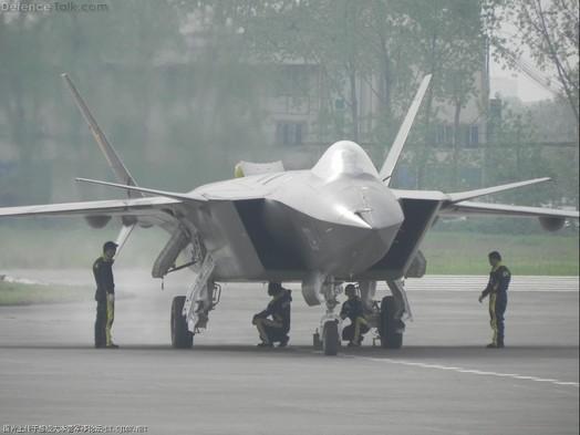 J-20 Black Eagle PLA Stealth Fighter Jet