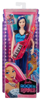 TOYS : JUGUETES - Barbie en el campamento de princesas  Zia | Amiga con guitarra con teclado | Muñeca - doll  Barbie in Rock'n Royals - Zia Doll and Keyboard Guitar  Nueva Película Disney 2015 | Mattel CKB62 | A partir de 3 años