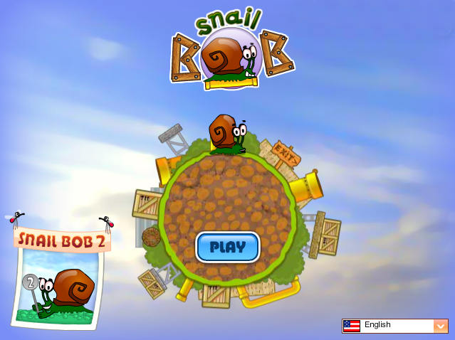 Snail Bob flash game