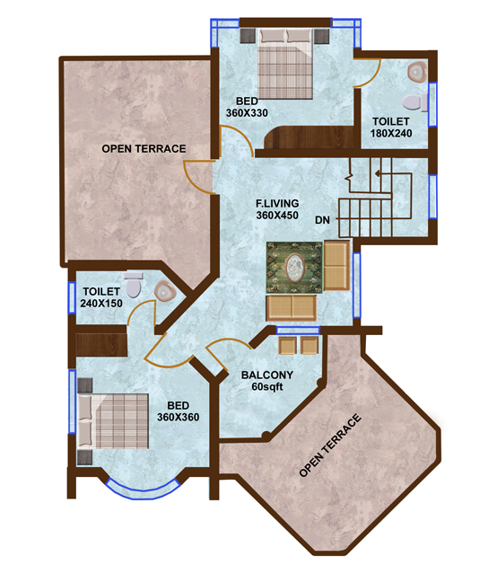11X11 Bedroom Floor Plans