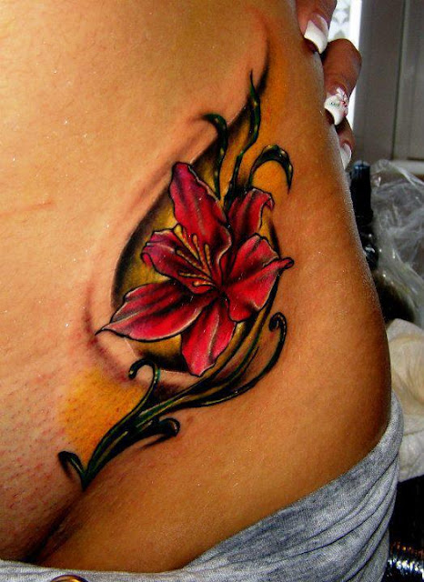 3D Flower Tattoos