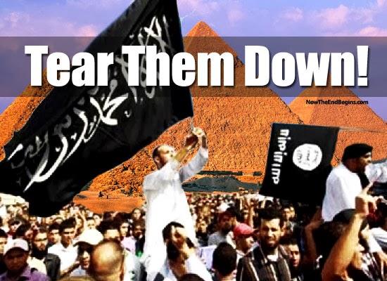 Great Pyramid On Islam's Destruction List