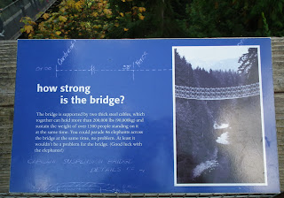 How strong is Capilano Suspension Bridge