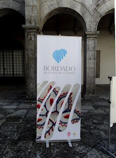 Bordados de Viana no Claustro de São Domingos