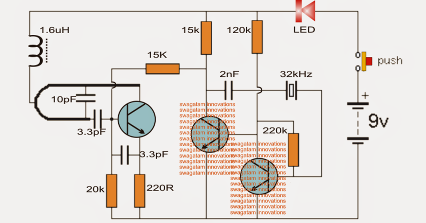 making  wireless doorbell circuit electronic circuit