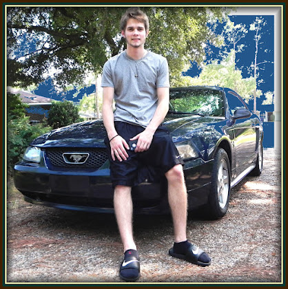 4ever Matthew and his 2007 Mustang 8-2012