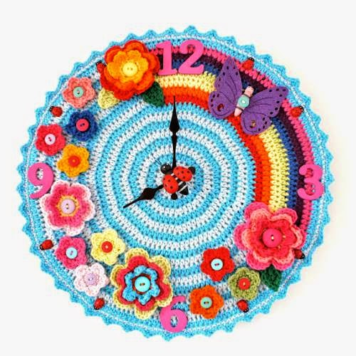 Idea para realizar un reloj al corchet