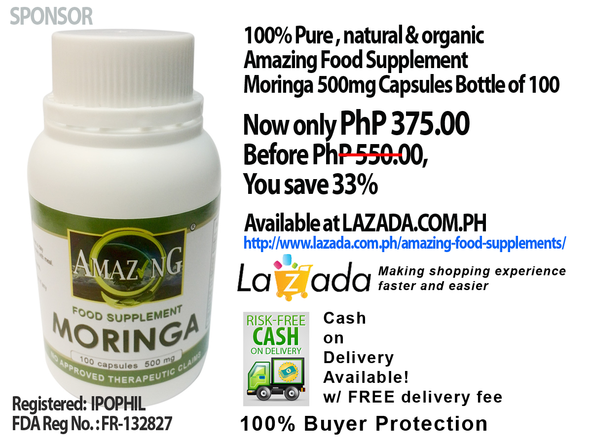 CLICK to buy Amazing Food Supplement Moringa Online C.O.D. - FREE delivery!