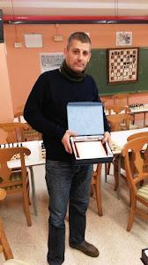 Jorge Fernández Montoro, catorce años al frente del Club Ajedrez Motril