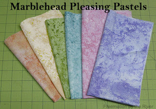 Marblehead Pleasing Pastels used in topper