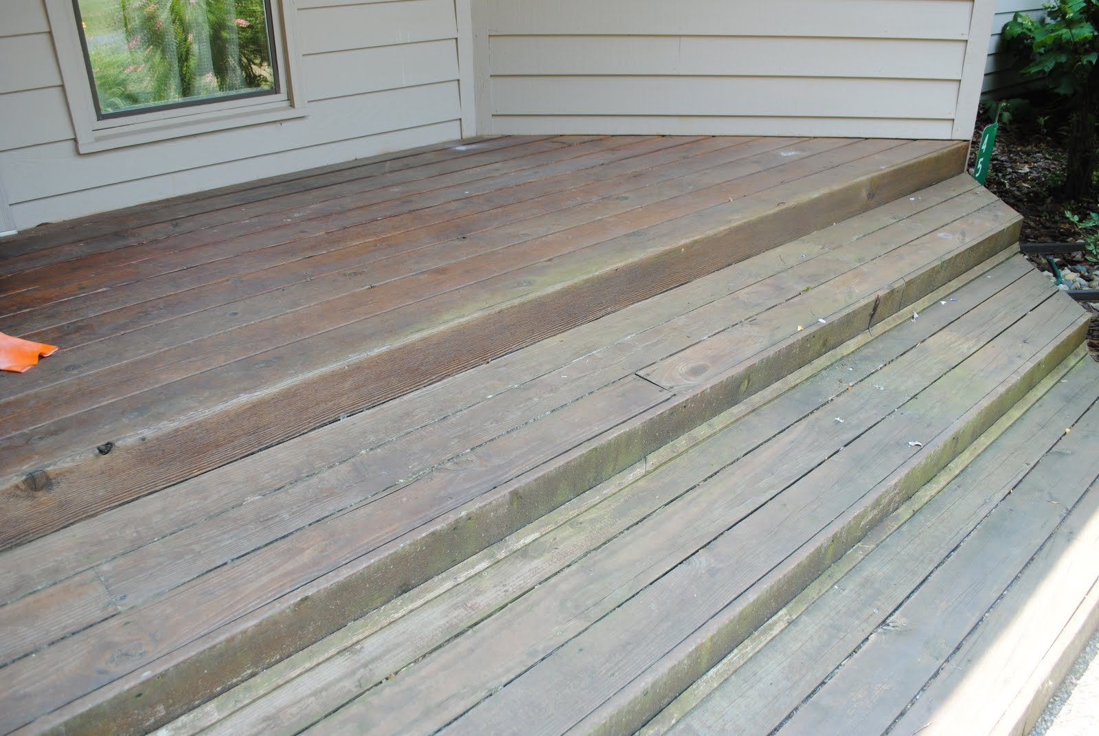 The boatwright family stained front porch for Stained front porch