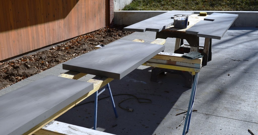 Creating Concrete Countertops: Not Too Shabby