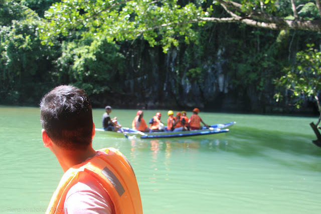 Renz Cheng in Underground River Palawan