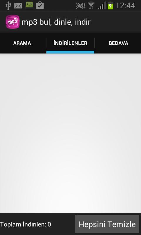 Mp3 Bul - Dinle Android Apk resimi 1