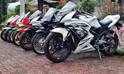modifikasi ninja 150 rr