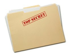 FOlder marked Top Secret