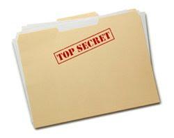 FOlder marked Top Secret