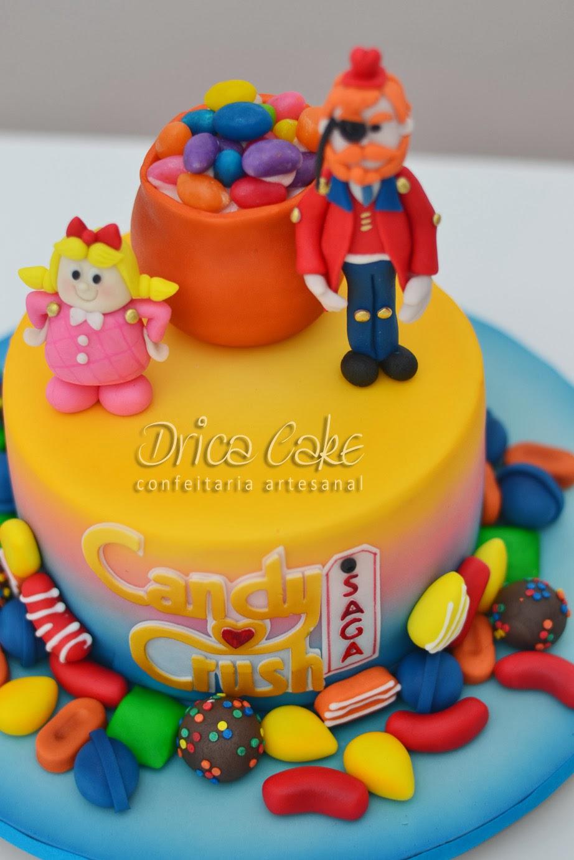 Drica cake confeitaria artesanal candy crush o bolo d - 1600 candy crush ...