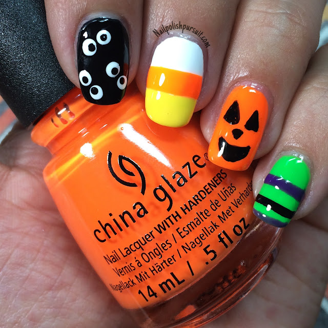 Nail Colors Halloween: KellieGonzo: Guest Post By Nail Polish Pursuit: Halloween