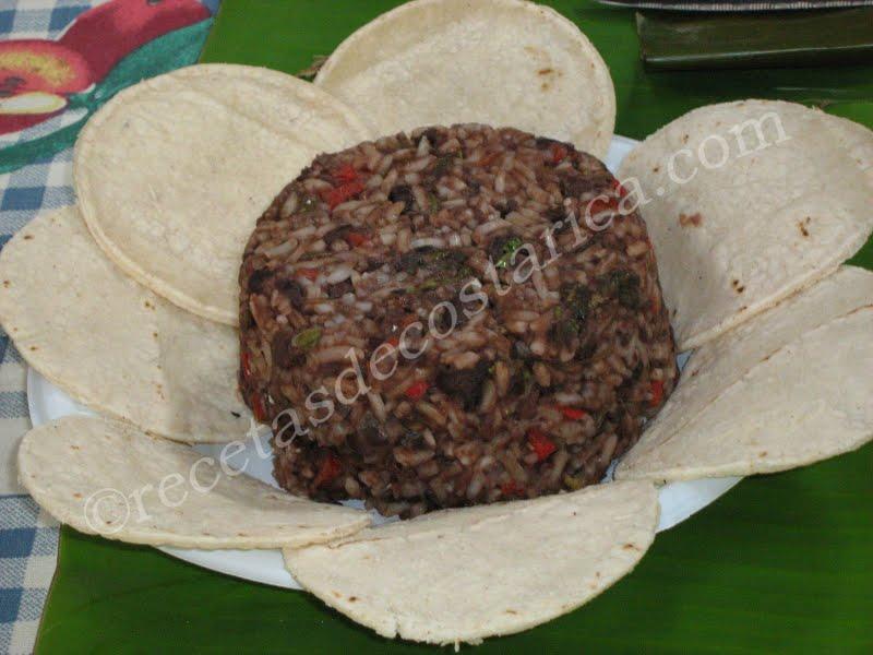 Cocina Costarricense: gallo pinto
