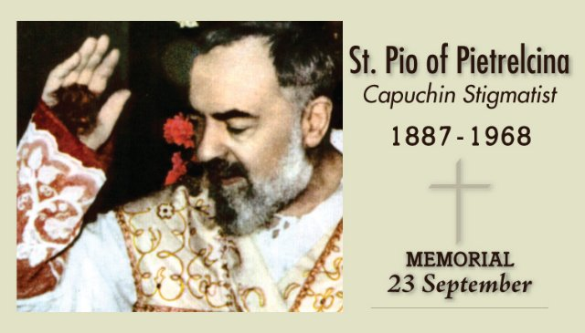 Feast Days in September http://christtotheworld.blogspot.com/2012/09/spiritual-friendship-padre-pio-and-holy.html