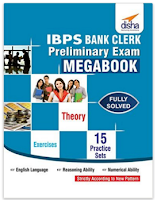 Buy IBPS Bank Clerk Preliminary Exam MegaBook – (Guide + 15 Practice Sets) at Rs.140 :Buytoearn