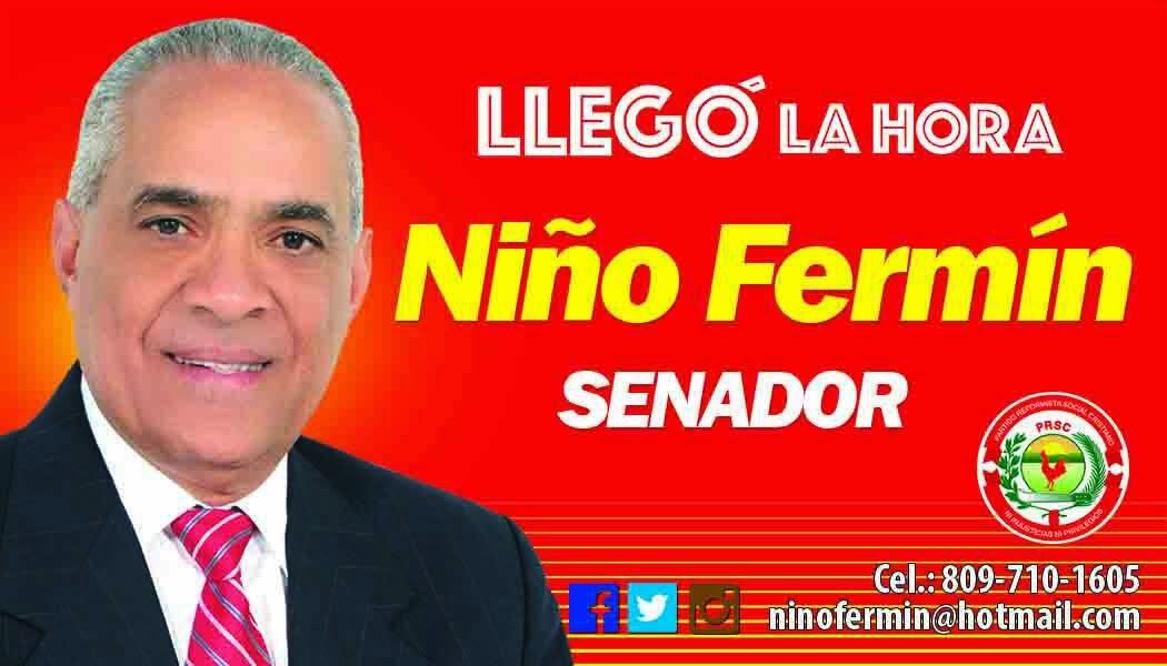 NIÑO FERMÍN SENADOR